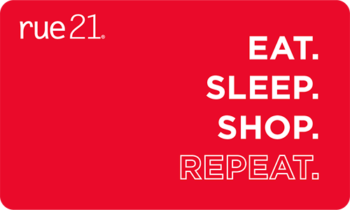 rue21 Eat Sleep Shop eGift Card